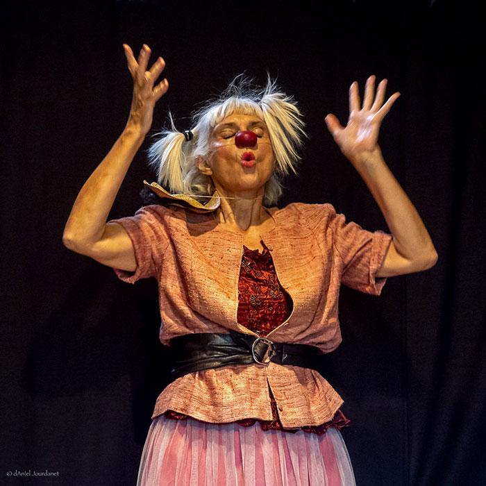 Stage: clown, voix et contes