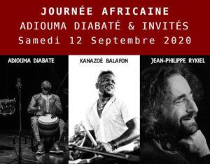 Journée africaine Adiouma Diabaté & invités @ Campagne Saint Jean