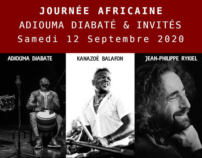Journée africaine Adiouma Diabaté & invités
