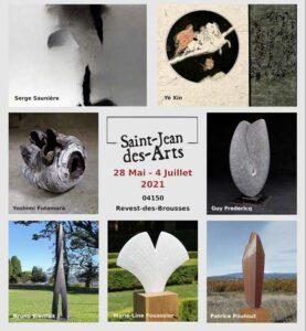 Exposition d'art contemporain 2021 à Saint-Jean-des-Arts @ Campagne Saint Jean