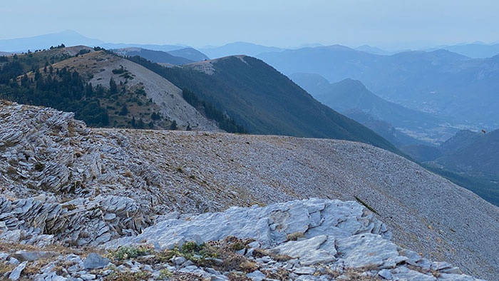 Randonnée Montagne de Lure depuis Notre-Dame-de-Lure