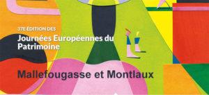 Journées Européennes du Patrimoine à Mallefougasse et à Montlaux @ Mallefougasse et Montlaux