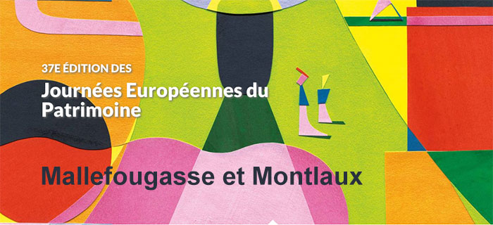 Journées Européennes du Patrimoine à Mallefougasse et à Montlaux
