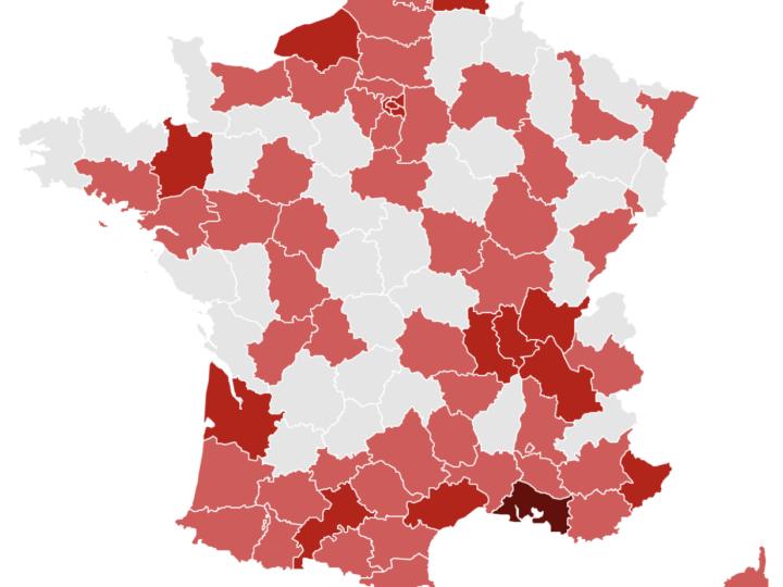 [info] Covid-19: 04 en rouge, cluster à Sisteron