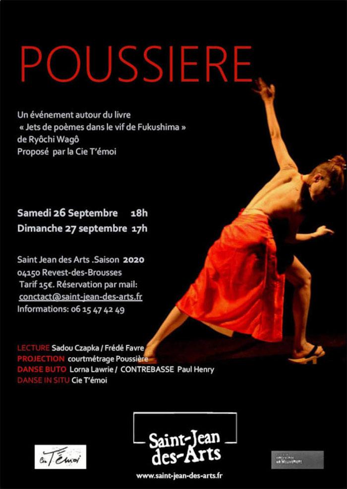 Poussière, un spectacle de la Cie T'émoi [ANNULÉ]