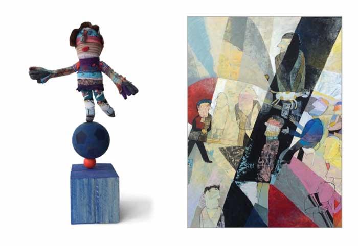 Exposition Voisinages – Caroll Bertin / Yves Nioré