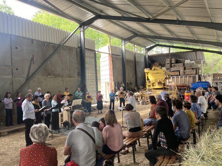 [reportage] Concert à la ferme