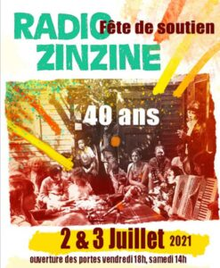 Radio Zinzine fête ses 40 ans ! @ Limans
